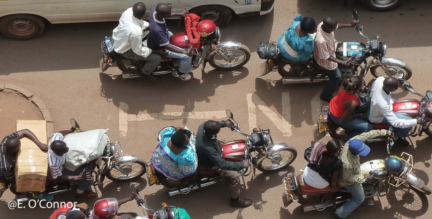 Free webinar on the topic of Motorcycle Taxis in the Rural Context in Sub-Saharan Africa and South Asia